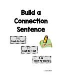 Build a Connection Sentence