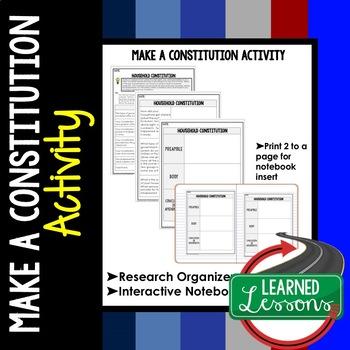 Build a Constitution Graphic Organizer