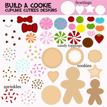 Build a Cookie - Designer Digital Clip Art Elements