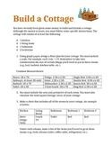 Build a Cottage - Perimeter, Area and Number Sense