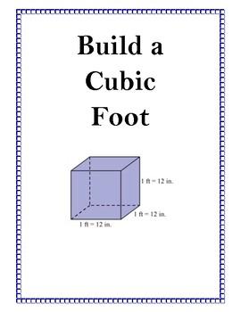 Build a Cubic Foot