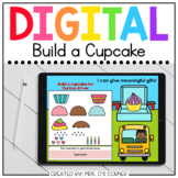 Build a Cupcake End of Year Digital Activity   Distance Learning