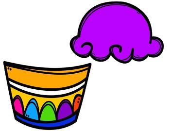 Build a Cupcake Large Size Reward for VIPKID and Online ESL