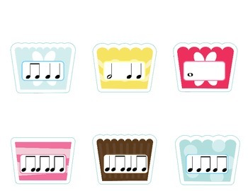 Build a Cupcake Time Signature File Folder Game