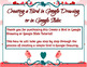 Simple Graphic Design Bird in Google Drawing or Google Slides - Easter Activity!