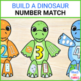 Build a Dinosaur Number Match