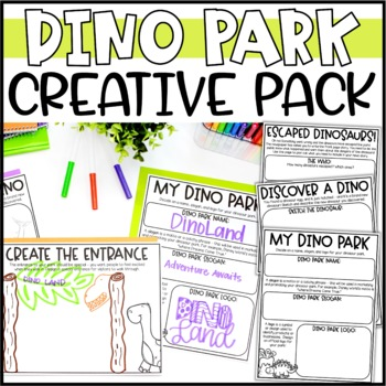 Build a Dinosaur Park Writing Add-On: Write a BREAKING News Story!