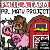 Build a Farm Project Based Learning Math Project (PBL)