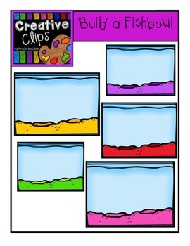 Build a Fishbowl {Creative Clips Digital Clipart}