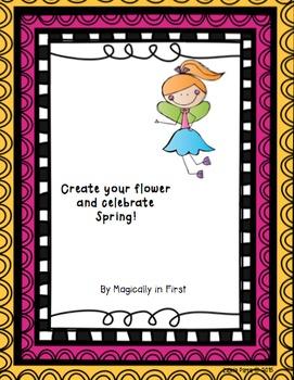Spring Activities - Create a Flower