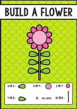 Build a Flower - Addition Game