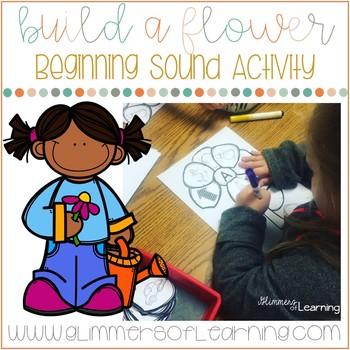Build a Flower: Beginning Sound Activity