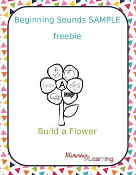 Build a Flower: Beginning Sound Activity SAMPLE