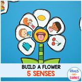 Build a Flower Five Senses Match