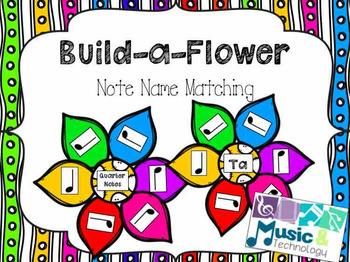 Build-a-Flower- Note Name Matching