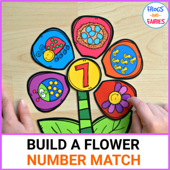 Build a Flower Number Match