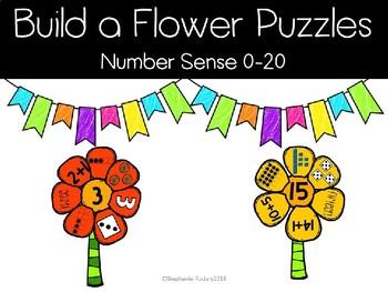 Build a Flower- Number Sense