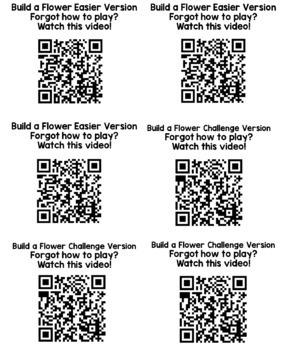 Build a Flower- Subitizing 1-20