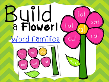 Build a Flower_Word Families!