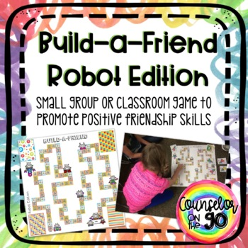 Build a Friend Board Game for Classroom or Small Group