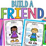 Build a Friend activity for positive friendship qualities