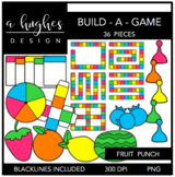 Build-a-Game: Fruit Punch Clipart {A Hughes Design}