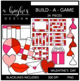Build-a-Game: Valentine's Day Clipart {A Hughes Design}