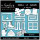 Build-a-Game: Winter Clipart {A Hughes Design}