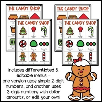 Build a Gingerbread House - A Mini-Math Project (Money)
