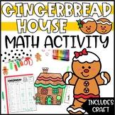 Winter Math Activity & Craft - Build a Gingerbread House