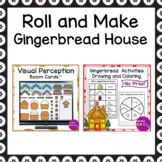 Build a Gingerbread House Activities and Boom Cards