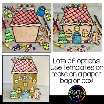 unusual gingerbread house coloring pages - photo#33