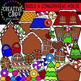 Build a Gingerbread House: Gingerbread Clipart {Creative C