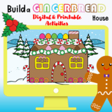 Build a Gingerbread House Digital and Printable Activity