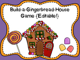Gingerbread House Game {Editable Game Cards}