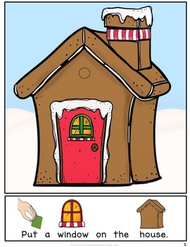 Build a Gingerbread House-INTERACTIVE ADAPTED BOOK