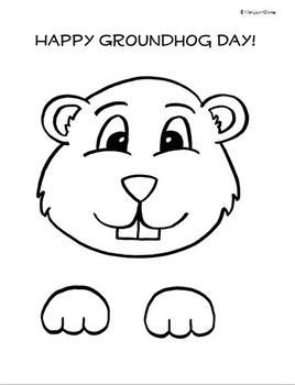 Build a Groundhog! - Groundhog Day Craft