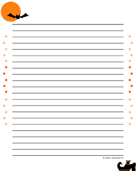 Build a Halloween Story Using a Plot Chart