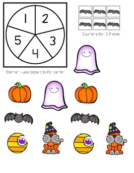 Build a Haunted House - 10 Frame Activity