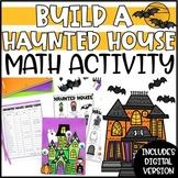 Halloween Math Activity & Craft - Build a Haunted House