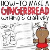 Gingerbread Man Build-a-Holiday Craftivity