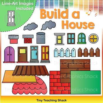 Build-a-House Clip Art