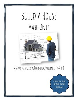 Build a House Math Unit