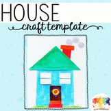 Build a House Printable Craftivity Template