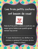 Build a House - STEM FRENCH IMMERSION