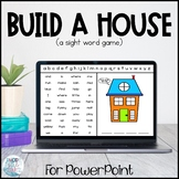 Sight Word Game: Build a House | Zoom Game