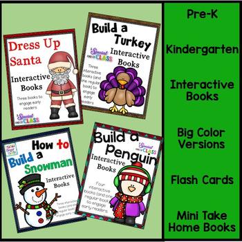 Build a ........... Interactive Easy Readers BUNDLE