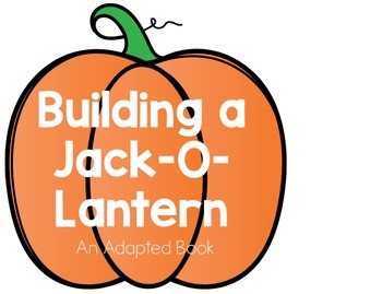 Build a Jack-O-Lantern Adapted Book