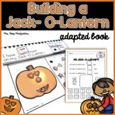 Build a Jack-O-Lantern- An Adapted Book #hellofall