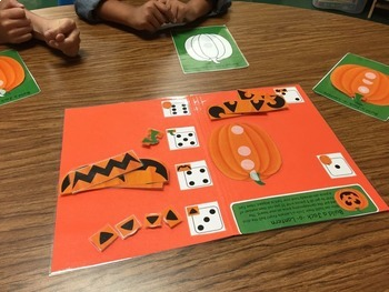 Build a Jack-O-Lantern Game: Open-end Game (for classroom or therapy)